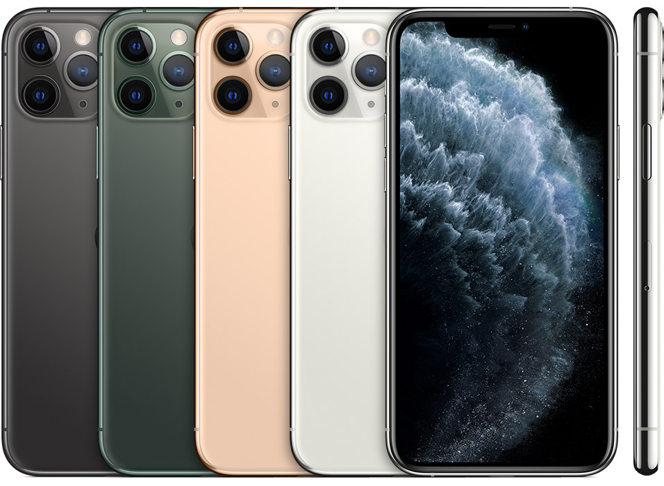 iPhone 11 Pro introduced in 2019.