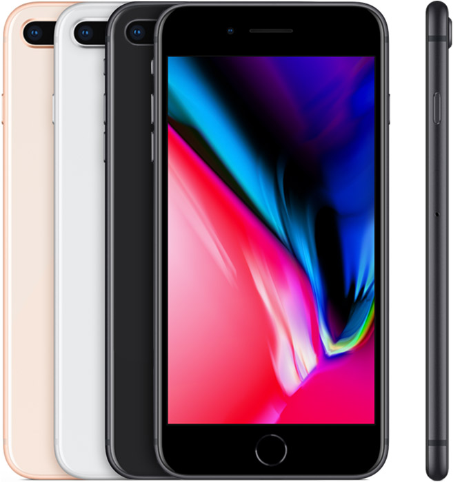 iPhone 8 Plus introduced in 2017