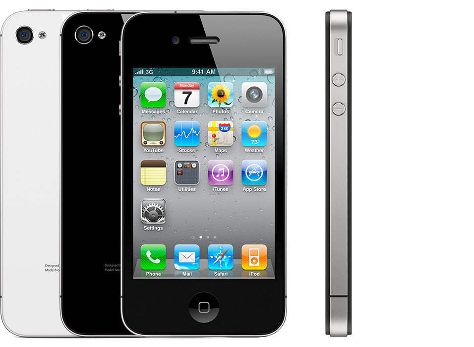how to identify iPhone model iPhone 4