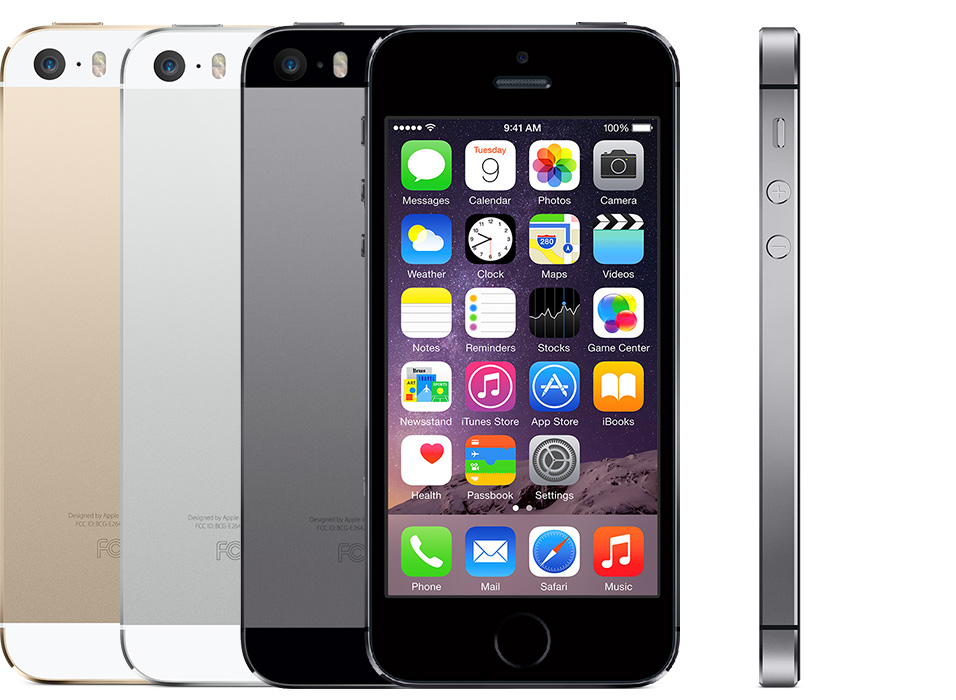 How to identify iPhone model name by model number: iPhone 5S introduced in 2013.