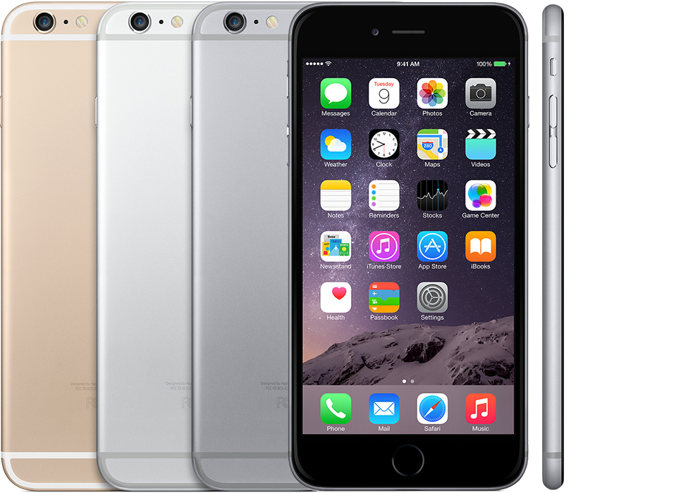 How to identify iPhone model name: iPhone 6 Plus introduced in 2014.
