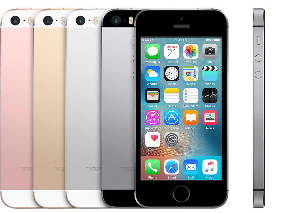 How to identify iphone model name: iPhone SE introduced in 2016.