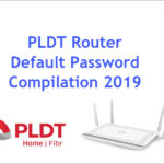 Image for default password of PLDT routers 2019 compilation