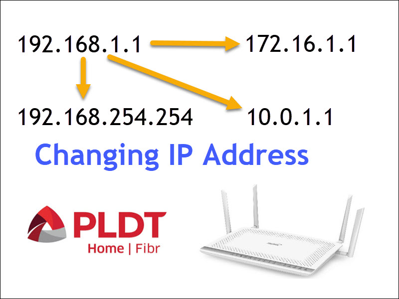 How to Change the IP Address of PLDT Routers