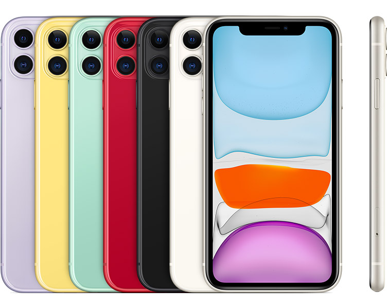 iPhone 11 introduced in 2019.