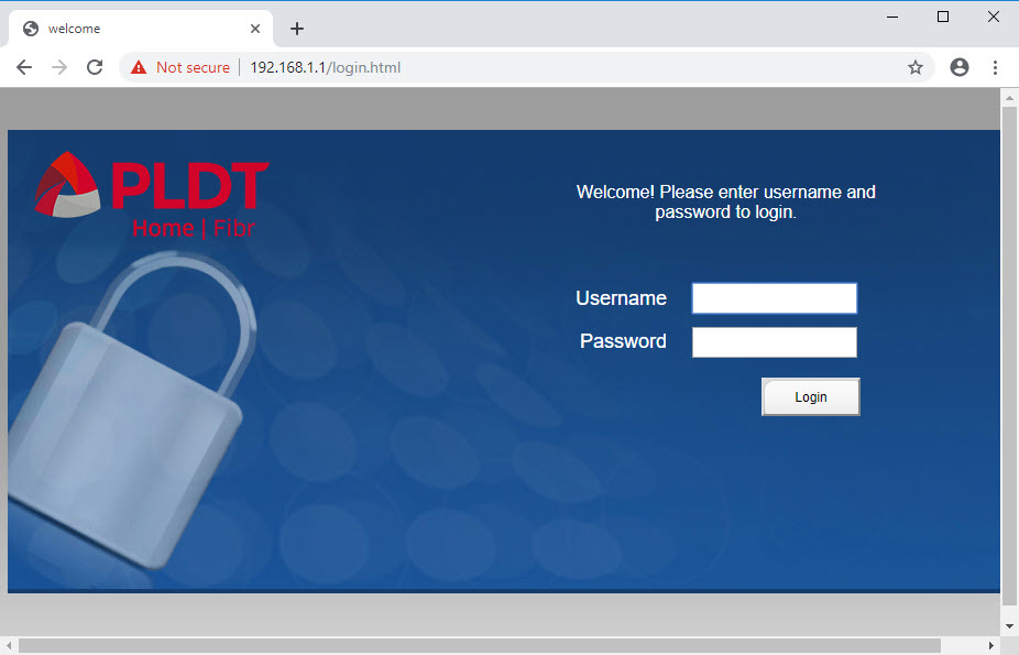 You need to know the default username and password of PLDT routers to be able to log into the configuration page.